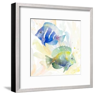 Tropical Fish Square IV-Lanie Loreth-Framed Art Print