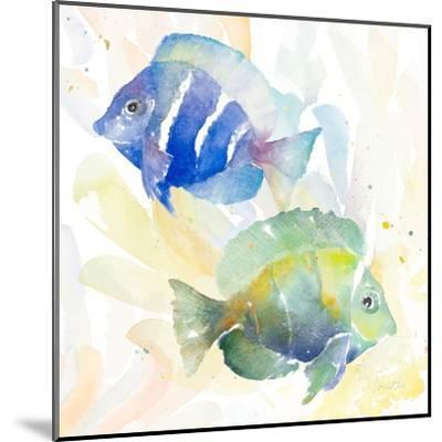 Tropical Fish Square IV-Lanie Loreth-Mounted Art Print