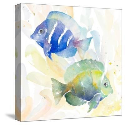 Tropical Fish Square IV-Lanie Loreth-Stretched Canvas Print