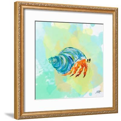 Watercolor Sea Creatures II-Julie DeRice-Framed Art Print