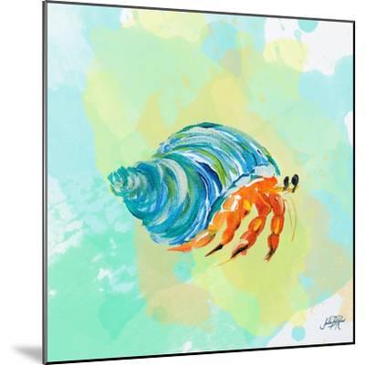 Watercolor Sea Creatures II-Julie DeRice-Mounted Art Print