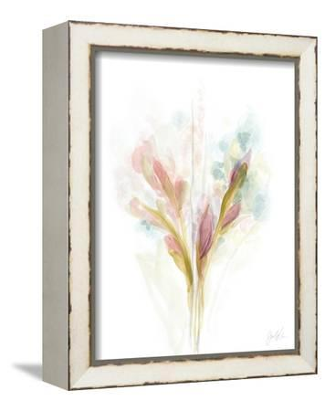 Floral Trace I-June Vess-Framed Stretched Canvas Print