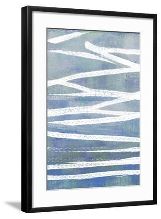 Pastel Gradient I-Jennifer Goldberger-Framed Art Print