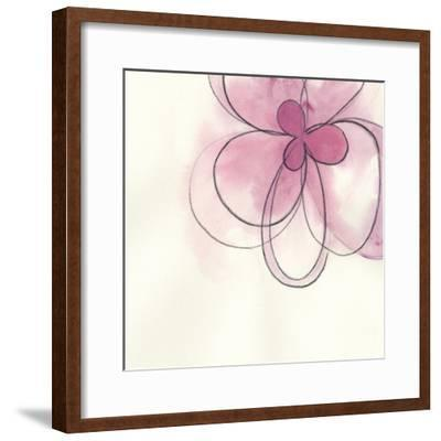 Floral Gesture I-June Vess-Framed Art Print