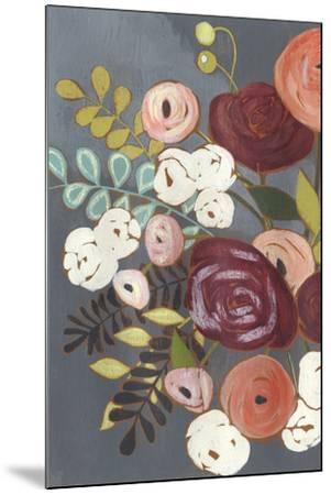 Wistful Bouquet II-Grace Popp-Mounted Art Print
