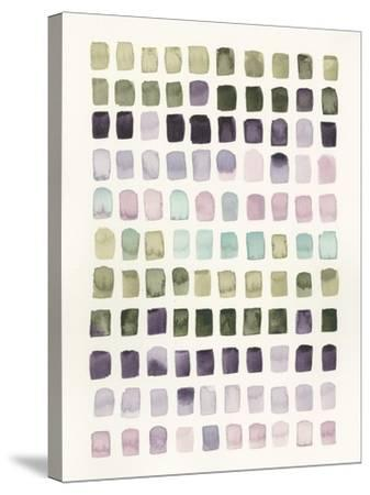 Serene Color Swatches I-Grace Popp-Stretched Canvas Print