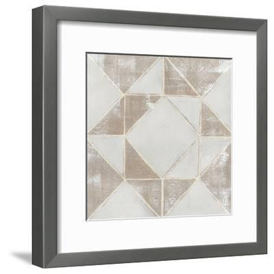 Geometric Veil I-Grace Popp-Framed Art Print