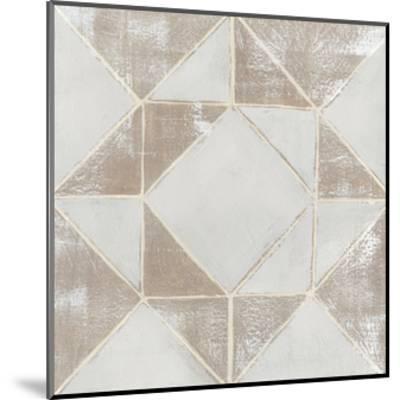 Geometric Veil I-Grace Popp-Mounted Art Print