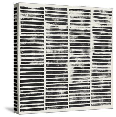 Stripe Block Prints II-Grace Popp-Stretched Canvas Print