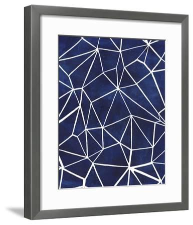 Indigo Pattern III-Grace Popp-Framed Art Print