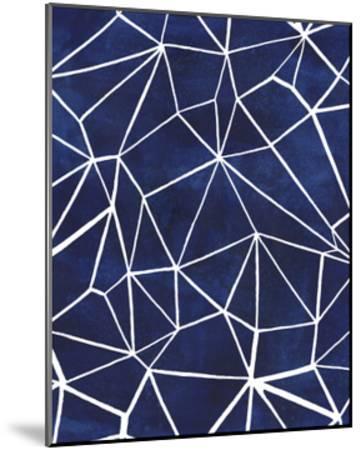 Indigo Pattern III-Grace Popp-Mounted Art Print