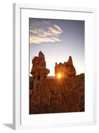 Shining through the Keyhole-Danny Head-Framed Photographic Print