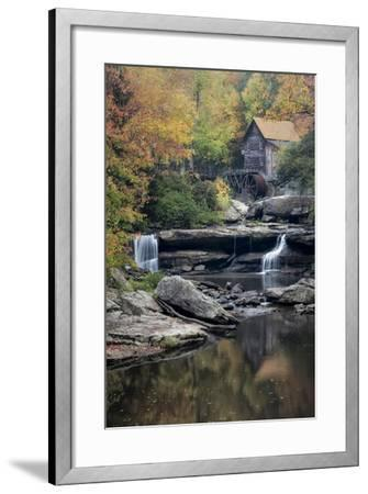 Mill Reflections-Danny Head-Framed Photographic Print