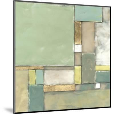 Modular Blocks II-Jennifer Goldberger-Mounted Art Print