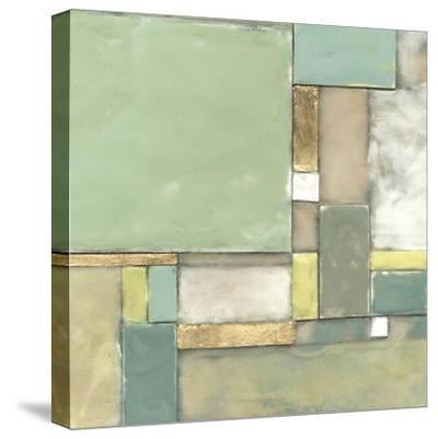 Modular Blocks II-Jennifer Goldberger-Stretched Canvas Print