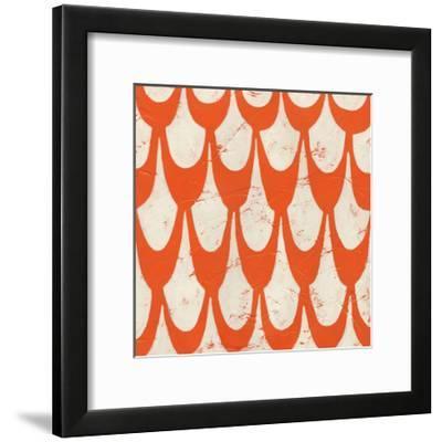 Singsong III-Chariklia Zarris-Framed Art Print