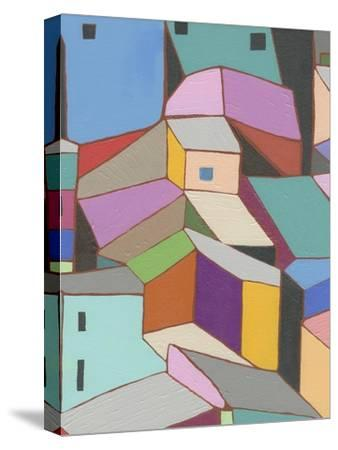 Rooftops in Color VIII-Nikki Galapon-Stretched Canvas Print