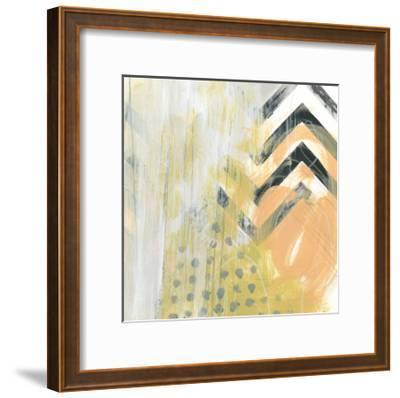 Side Swipe IV-June Vess-Framed Art Print