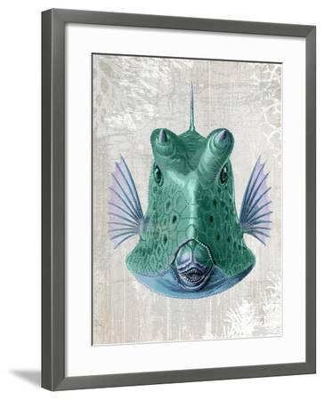 Cowfish-Fab Funky-Framed Art Print
