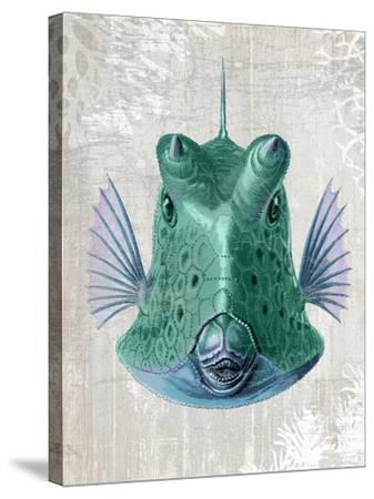 Cowfish-Fab Funky-Stretched Canvas Print