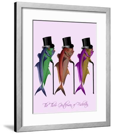 Gentleman of Fisherton-Fab Funky-Framed Art Print