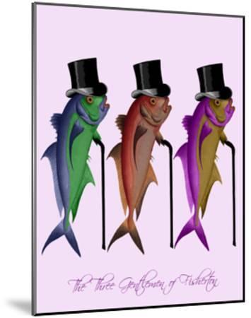 Gentleman of Fisherton-Fab Funky-Mounted Art Print