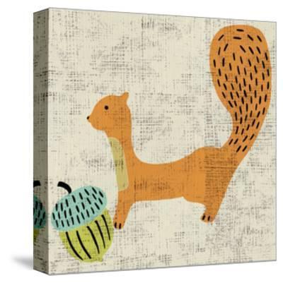 Ada's Squirrel-Chariklia Zarris-Stretched Canvas Print