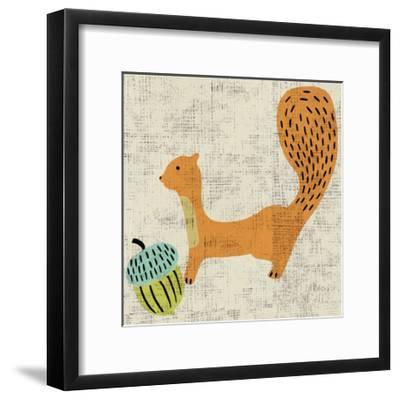 Ada's Squirrel-Chariklia Zarris-Framed Art Print