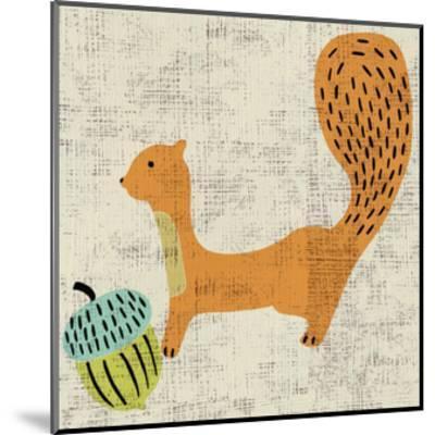 Ada's Squirrel-Chariklia Zarris-Mounted Art Print
