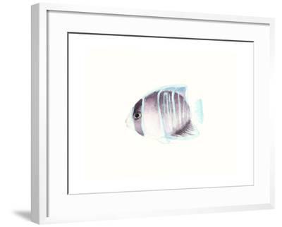 Watercolor Tropical Fish III-Naomi McCavitt-Framed Art Print
