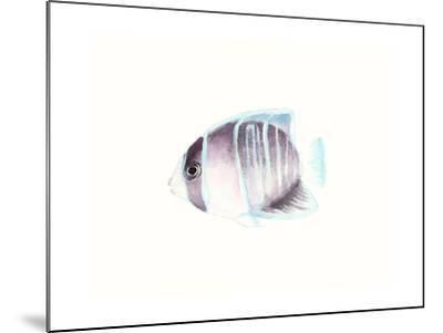 Watercolor Tropical Fish III-Naomi McCavitt-Mounted Art Print