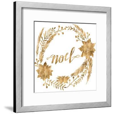 Golden Christmas IV-Grace Popp-Framed Art Print