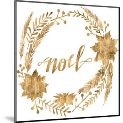 Golden Christmas IV-Grace Popp-Mounted Art Print