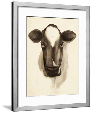 Watercolor Barn Animals IV-Grace Popp-Framed Art Print