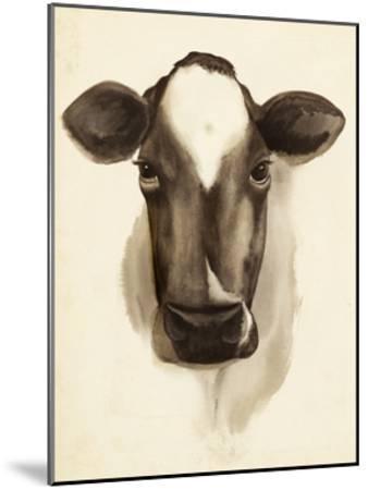 Watercolor Barn Animals IV-Grace Popp-Mounted Art Print