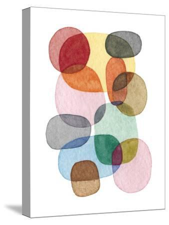 Inked Orbs III-Nikki Galapon-Stretched Canvas Print