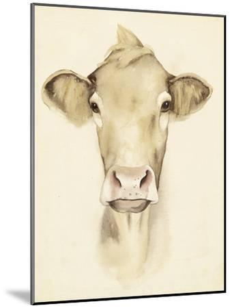 Watercolor Barn Animals III-Grace Popp-Mounted Art Print