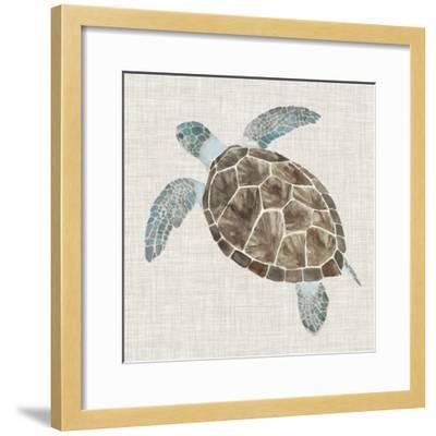 Sea Turtle II-Naomi McCavitt-Framed Art Print