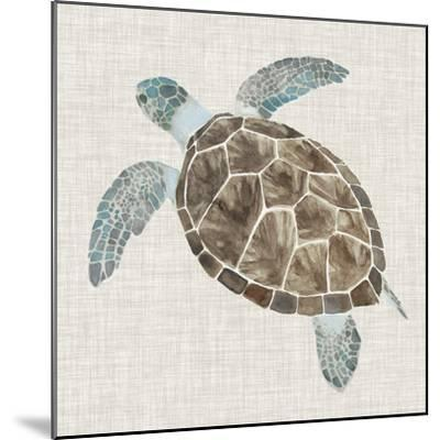 Sea Turtle II-Naomi McCavitt-Mounted Art Print