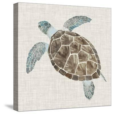 Sea Turtle II-Naomi McCavitt-Stretched Canvas Print