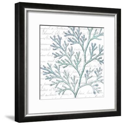 Aqua Marine IX-Anna Hambly-Framed Art Print