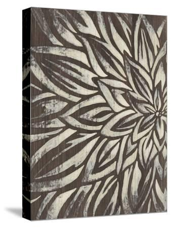 Barnwood Blossom I-June Vess-Stretched Canvas Print