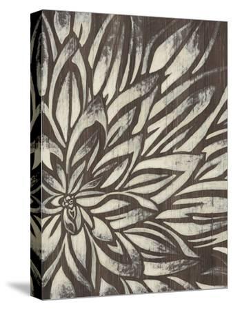 Barnwood Blossom II-June Vess-Stretched Canvas Print