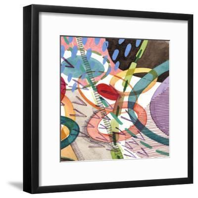 Stratosphere II-Nikki Galapon-Framed Art Print
