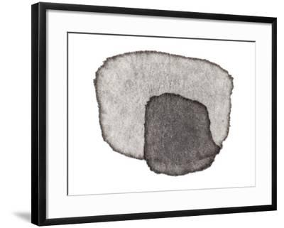 Grey Slate IV-Nikki Galapon-Framed Art Print