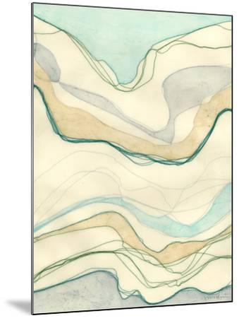 Ocean Cascade I-Vanna Lam-Mounted Art Print