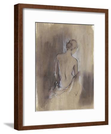 Contemporary Draped Figure II-Ethan Harper-Framed Premium Giclee Print