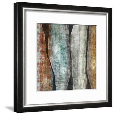 Painted Live Edge II-John Butler-Framed Art Print