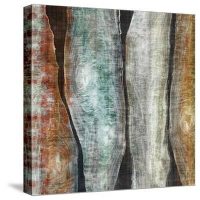 Painted Live Edge II-John Butler-Stretched Canvas Print