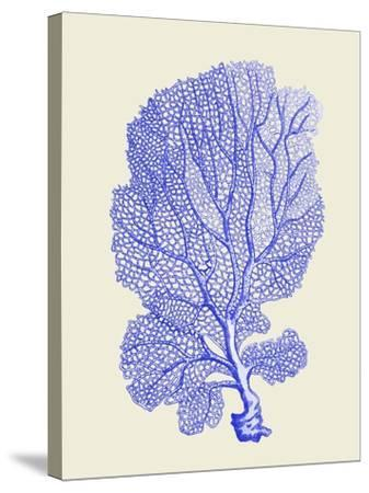 Blue Corals b-Fab Funky-Stretched Canvas Print